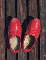 Wooden shoes by jiddje