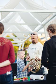 #PXSTL Marks the Spot on Sept. 19, 2014 – Instrument Play Ground – best way to recruit more French horn players for #SLSYO!