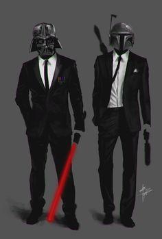 Star Wars - Darth Vader - Boba Fett