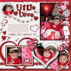 Little Love, digital layout by pawprints