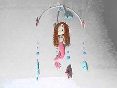 "Nursery mobile (video) - ""under the sea friends"""