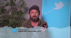 jimmy kimmel mean tweets. Who cares he is great.