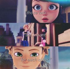 I thought Master Fu said: Those two are 'made' for each other but meh same thing. XD