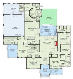 Lovely Design with Safe Room - 59527ND | Traditional, Luxury, Photo Gallery, 1st Floor Master Suite, Bonus Room, Butler Walk-in Pantry, CAD Available, Jack & Jill Bath, PDF, Corner Lot | Architectural Designs