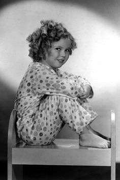 1778 SHIRLEY TEMPLE 8.5 x 11 Black & White Glossy Picture Photo NOT 8 X 10
