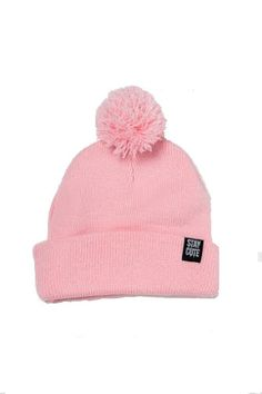 Everyday Pom Beanie #NYLONshop http://shop.nylon.com/collections/whats-new/products/everyday-pom-beanie