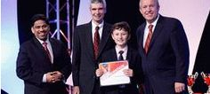 Robert Phipps from Royal Grammar School in Guildford was crowned Third Place Winner at the Microsoft Office Specialist Worldwide Competition 2012