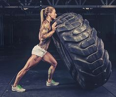 muscular-female-calves:  Well, she is strong in every inch of her body.   Christmas Abbott