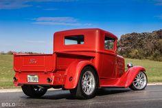 images of ford hot rod trucks | 1930 Ford Model Pickup Custom Hot Rod Rods Retro Truck Trucks ...