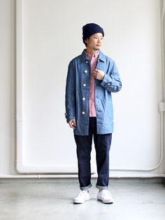 Kato' Basic Soutien Collar Coat
