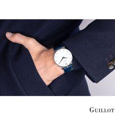 Be classy in blue Bracelets Bleus, Bleu Marine, Watches For Men, Have Fun, Classy, Steel, Luxury, Blue, Accessories