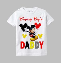 Minnie Mouse Sister Shirt Mickey Mouse Birthday by funfashionsetc