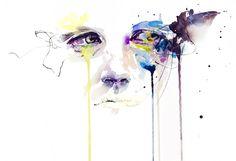 Silvia Pelissero agnes-cecile watercolors. my mind is blown
