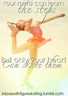 17 year old figure skater from london :) will be posting inspirational pictures about skating and my passion for the sport. (I do not own any of the images used) Ask me Stuff! Figure Skating Hair, Figure Ice Skates, Ice Skating Quotes, Figure Skating Quotes, Ice Skating Videos, Skating Pictures, Ice Show, Feel Good Quotes, Living On The Edge