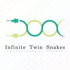 Infinite Twin Snakes logo by Serdal Sert