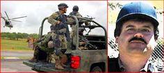 Fuerzas de Seguridad de Mexico pisan los talones a Joaquin -El Chapo- Guzman; dicen esta herido