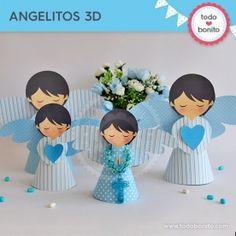 Alitas celeste: angelitos 3D