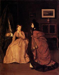 Attraktiv Vintage Porträt, Viktorianische Frauen, Viktorianische Kleider,  Viktorianischen Gemälde, Mode Malerei,