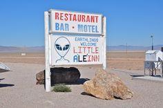 The Little A'Le'Inn in Rachel, Nevada - photo by JD, via JD's Scenic Southwestern Travel Destination Blog