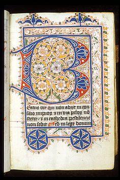 Puzzle initial Egerton 3271   f. 8
