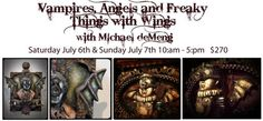 Assemblog of Michael deMeng: New Color Washes...Freaky Things with Wings...and the Worlds Smallest Shrineys.