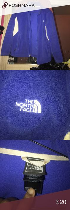 North face blue jacket I'm great condition North Face Jackets & Coats Utility Jackets