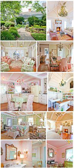 Kirstie Alley's Maine Cottage
