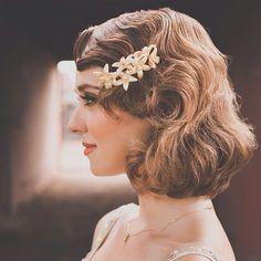 ボブスタイルの花嫁に絶対似合うおすすめヘアアクセサリーまとめ♡ | marry[マリー]