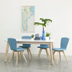 Bianco dining table | Adventures in Furniture