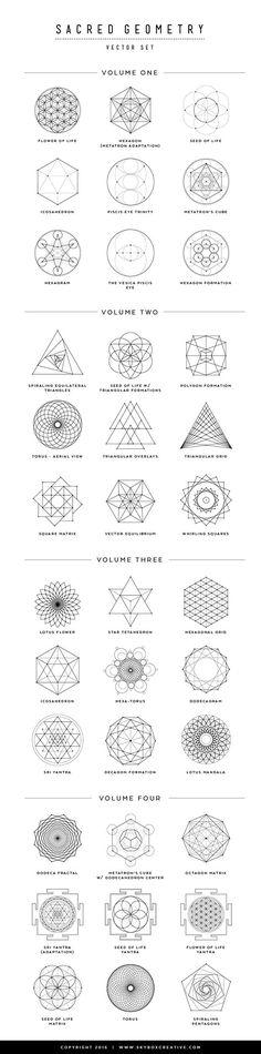Sacred Geometry Basics - 8 Symbols