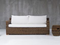 2 seater sofa with removable cover CROCO 06 by Gervasoni design Paola Navone