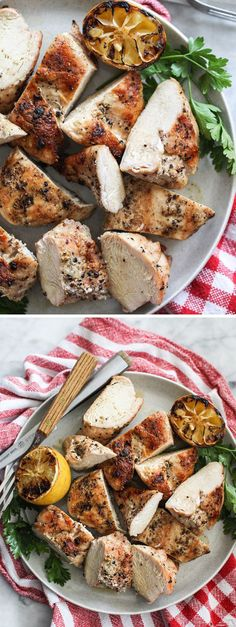 The secret to juicy grilled chicken isn't in the seasonings or complicated marinades. It's all about HOW you grill the chicken. foodiecrush.com