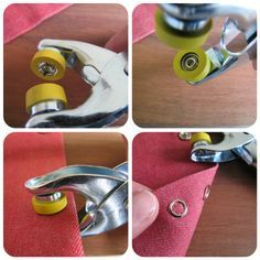 How to apply snap fasteners