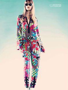 Psychodelic Lover   Gwen Loos   Yuji Oboshi & Mari Maeda #photography   WestEast Magazine 36 Spring/Summer 2012