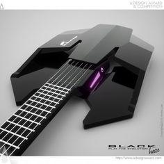 futuristic guitar