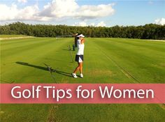 Golf Swing Tips for Women - Golfer's Jewels
