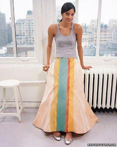 Bridesmaid dress makeover ideas #marthastewart