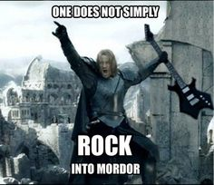 Browse the best of our 'One Does Not Simply Walk into Mordor' image gallery and vote for your favorite!.
