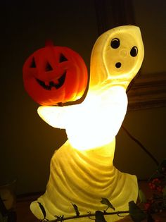 Vintage Halloween decoration by timnatl, via Flickr