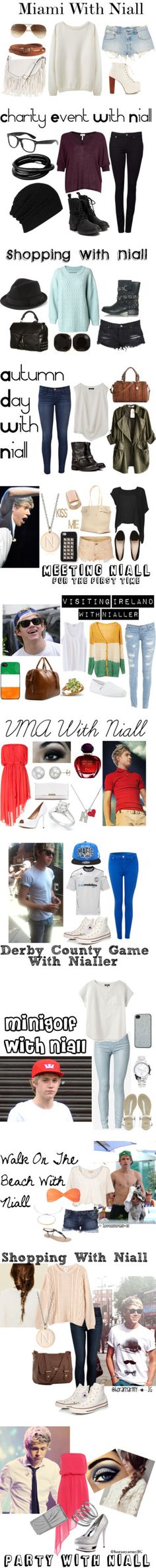 """""""Directioner Outfits - Niall Horan"""" by bananaaaa ❤ liked on Polyvore"""