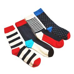 High quality korean fashion comfortable fringe combed cotton men happy socks causal college style 2017 #Affiliate