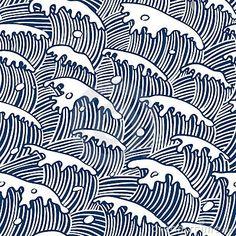 Blue - waves - ondas - azuis