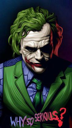 Art Du Joker, Le Joker Batman, Batman Joker Wallpaper, Der Joker, Joker Iphone Wallpaper, Joker Comic, Joker Wallpapers, Marvel Wallpaper, Joker And Harley Quinn