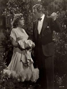 "Judy Garland with Van Heflin in ""Presenting Lily Mars"" (1943)"