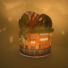lanterns from painter Kate Lycett