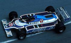 Jacques-Henri Laffite (FRA) (Equipe Talbot Gitanes), Ligier JS17 ...