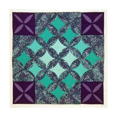 Cathedral Window Quilt Wall Hanging Secret by LMOTextileArts