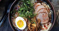 Shoyu Ramen ... All from scratch!! Dashi, Tare, Pork Shoulder, Soft-boiled Egg, and everything (a 3-day process!) | bon appétit