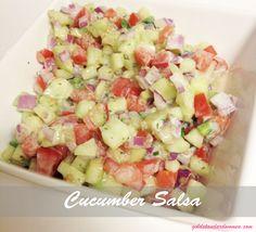 Cucumber Salsa | goldstandardwomen.com