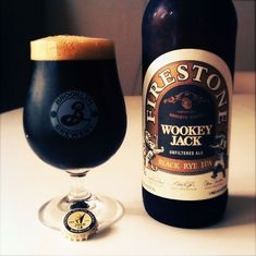 Firestone Wookey Jack IPA #beer Too Strong for Dana ------